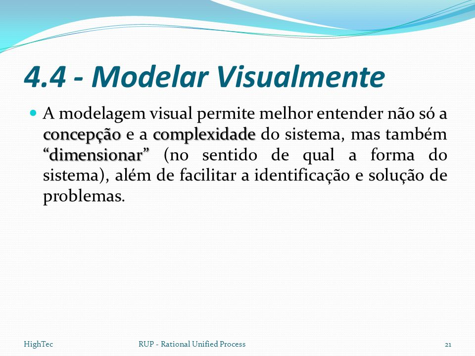 4.4 - Modelar Visualmente