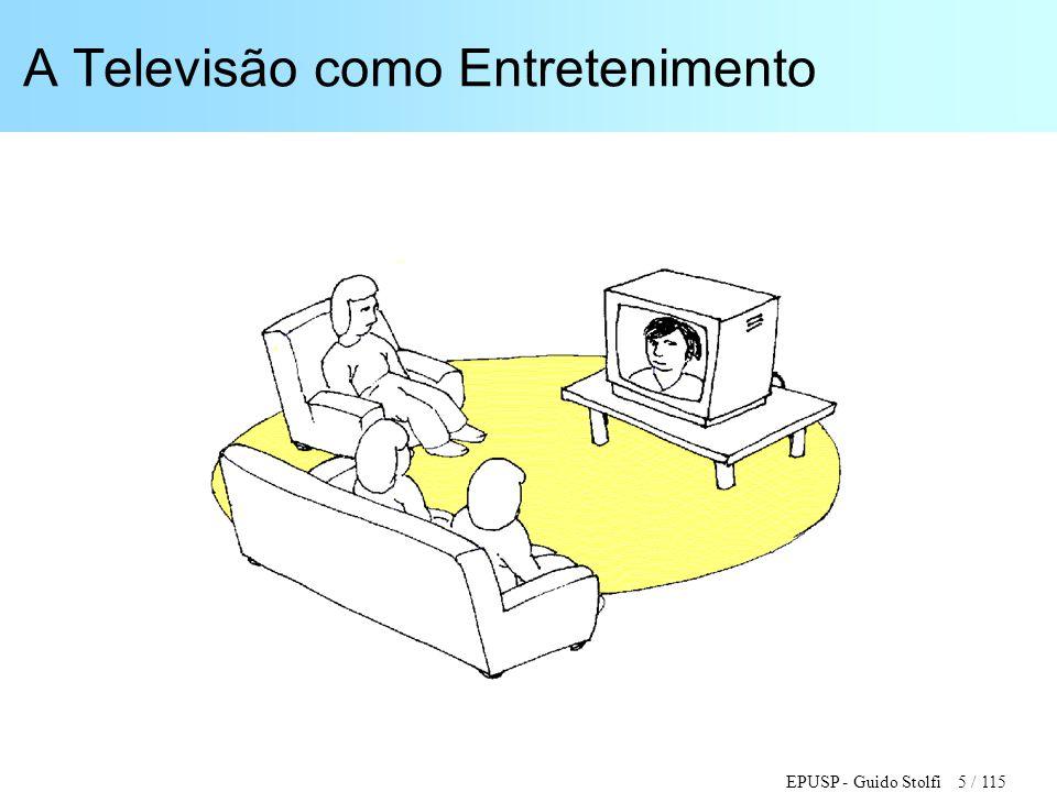 A Televisão como Entretenimento