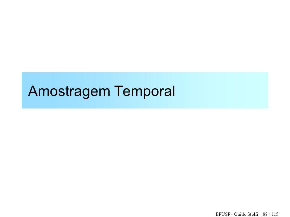 Amostragem Temporal
