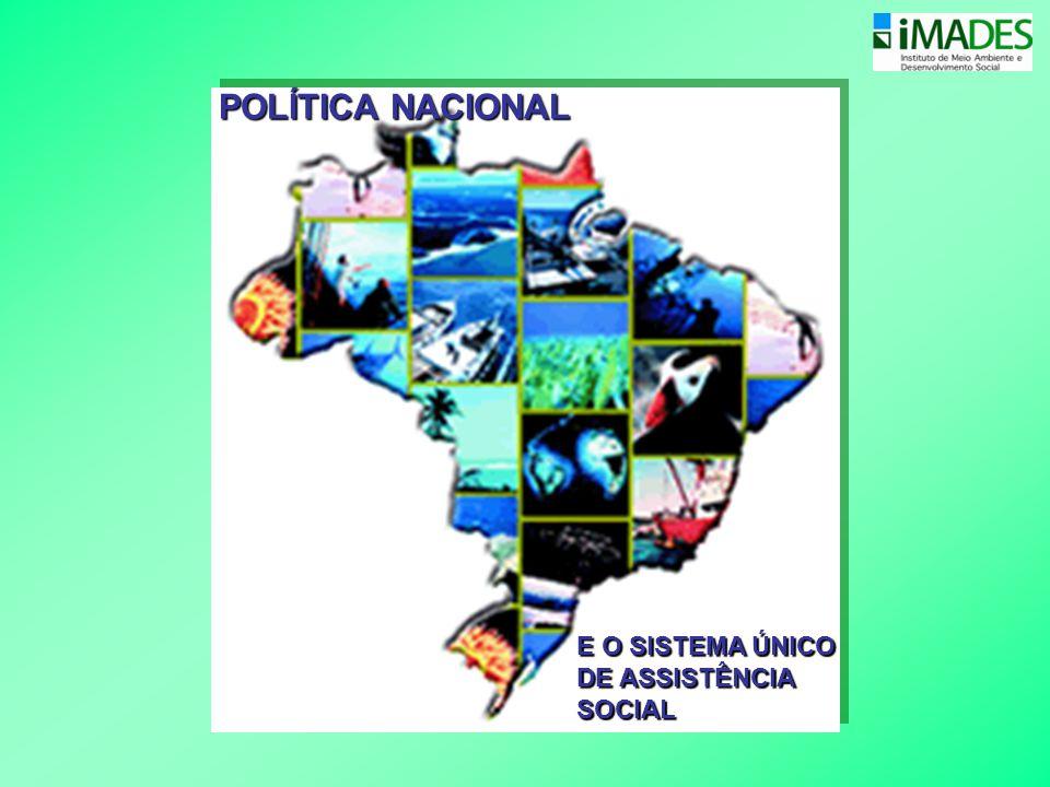 POLÍTICA NACIONAL E O SISTEMA ÚNICO DE ASSISTÊNCIA SOCIAL