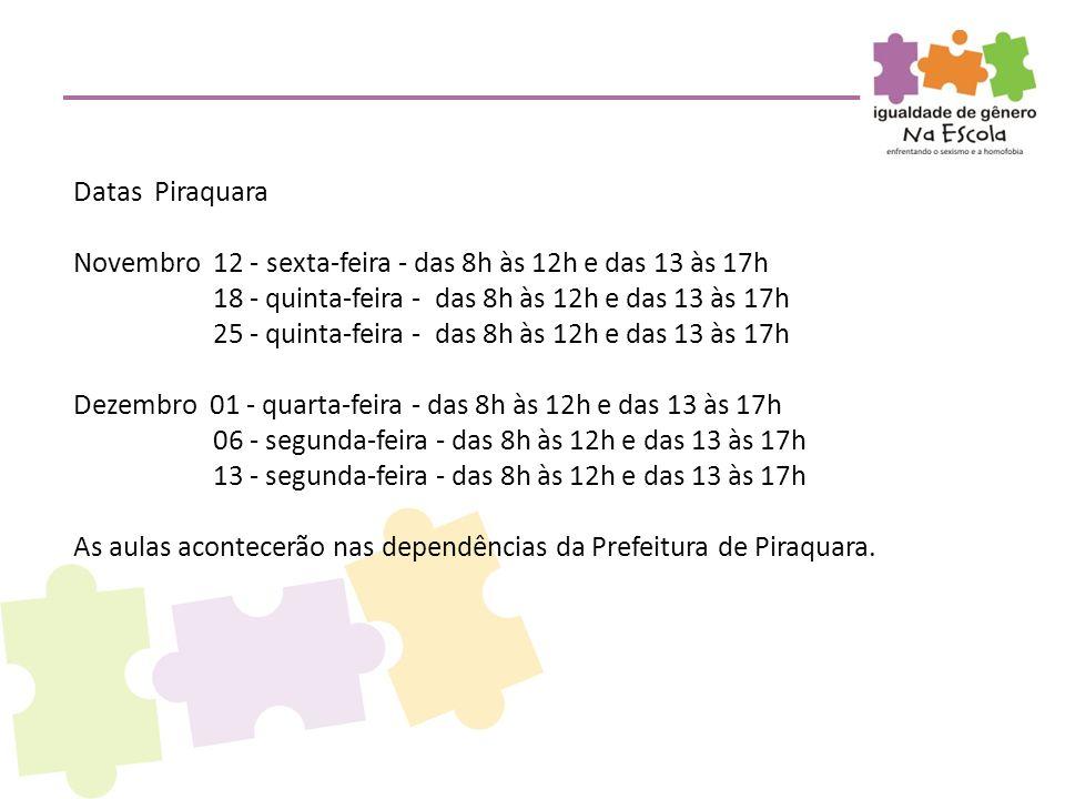 Datas Piraquara