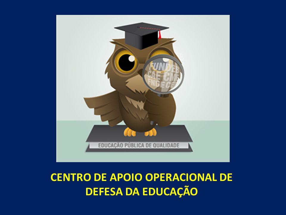 CENTRO DE APOIO OPERACIONAL DE DEFESA DA EDUCAÇÃO