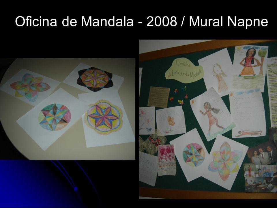 Oficina de Mandala - 2008 / Mural Napne