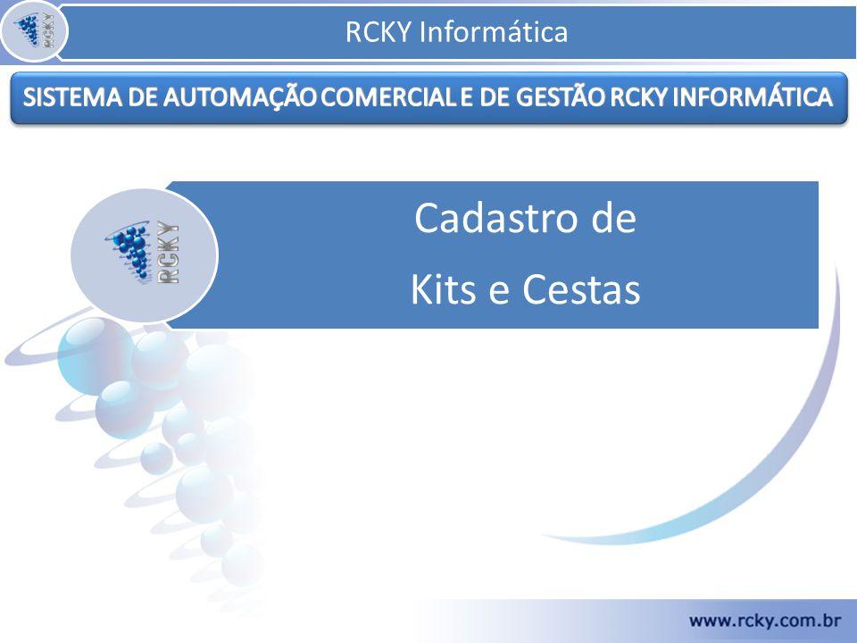 SISTEMA DE AUTOMAÇÃO COMERCIAL E DE GESTÃO RCKY INFORMÁTICA