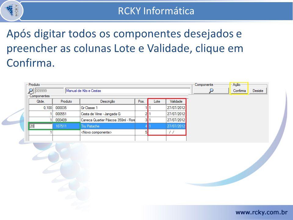 RCKY Informática RCKY Informática.