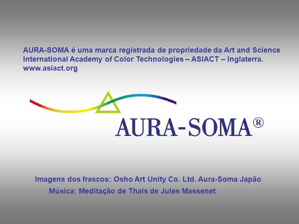 AURA-SOMA é uma marca registrada de propriedade da Art and Science