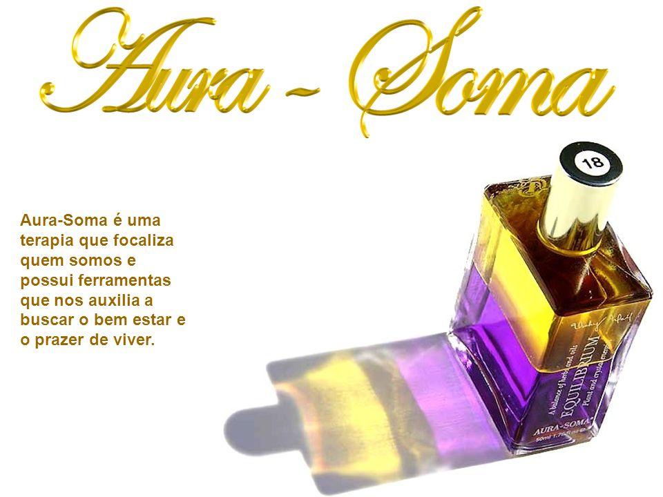 Aura-Soma é uma terapia que focaliza quem somos e possui ferramentas