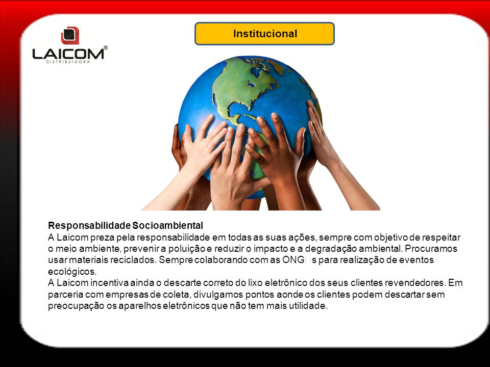 Institucional Responsabilidade Socioambiental