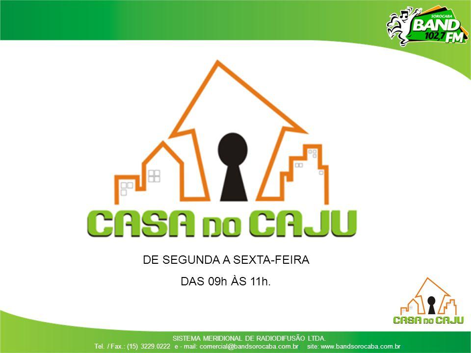 DE SEGUNDA A SEXTA-FEIRA