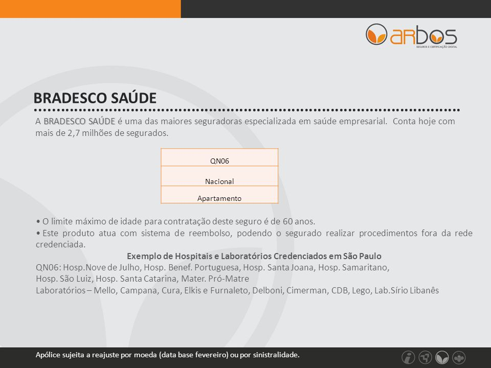 Exemplo de Hospitais e Laboratórios Credenciados em São Paulo