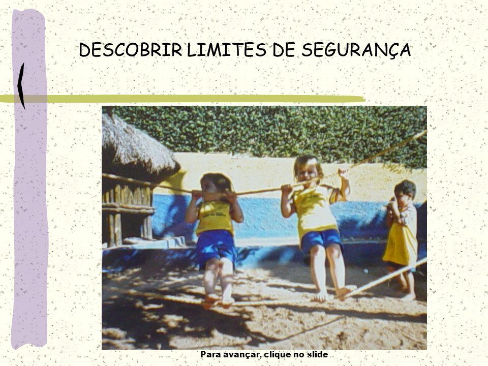 DESCOBRIR LIMITES DE SEGURANÇA