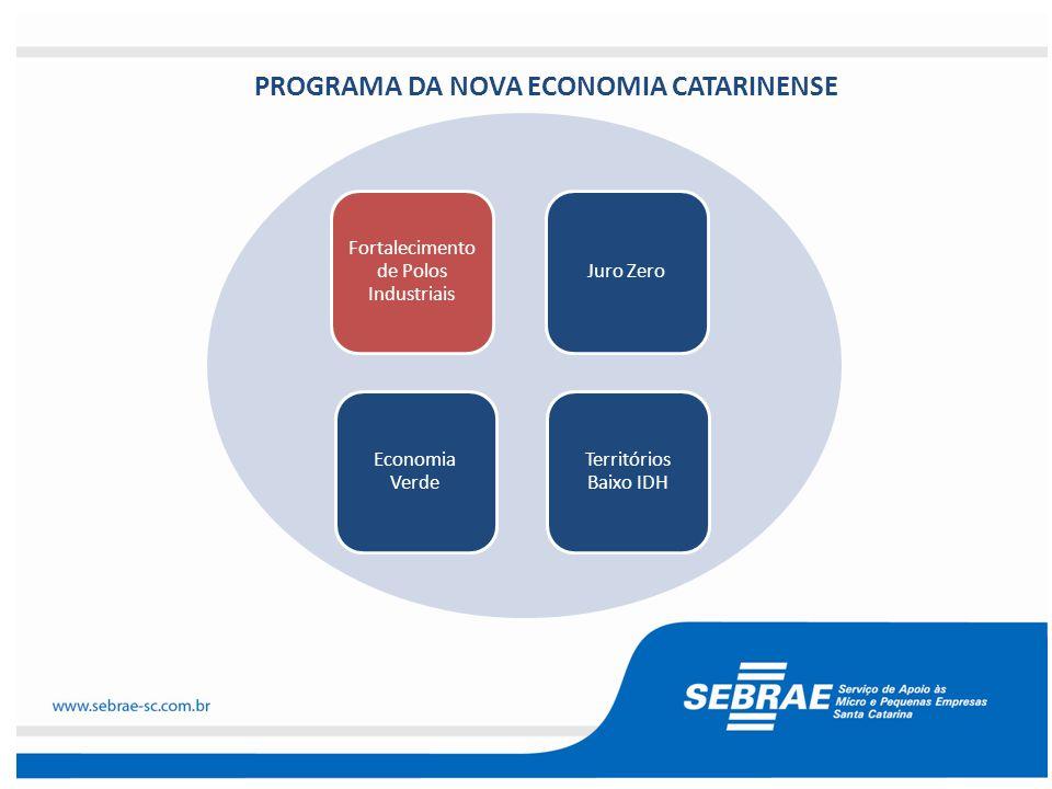 PROGRAMA DA NOVA ECONOMIA CATARINENSE
