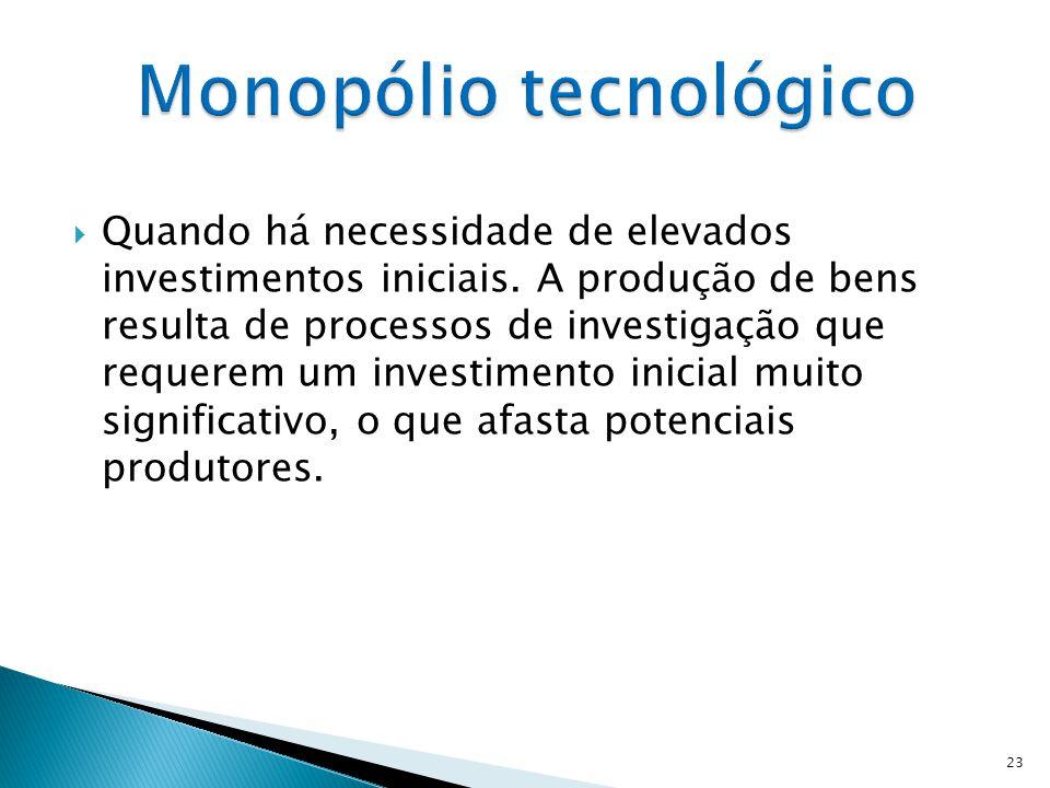 Monopólio tecnológico