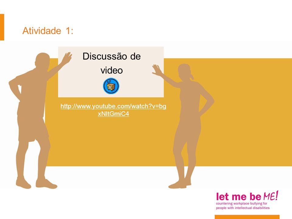 Atividade 1: Discussão de video