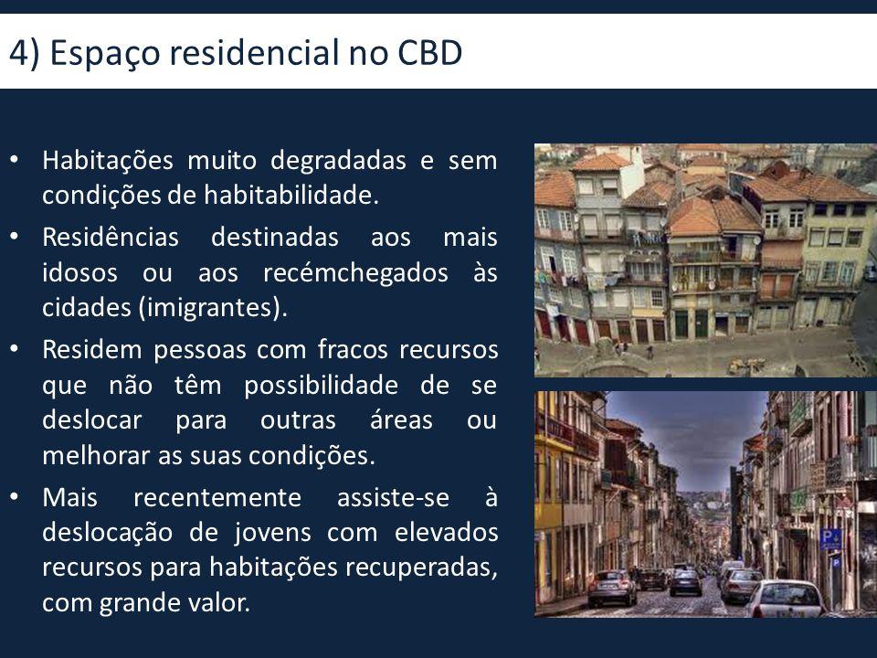 4) Espaço residencial no CBD