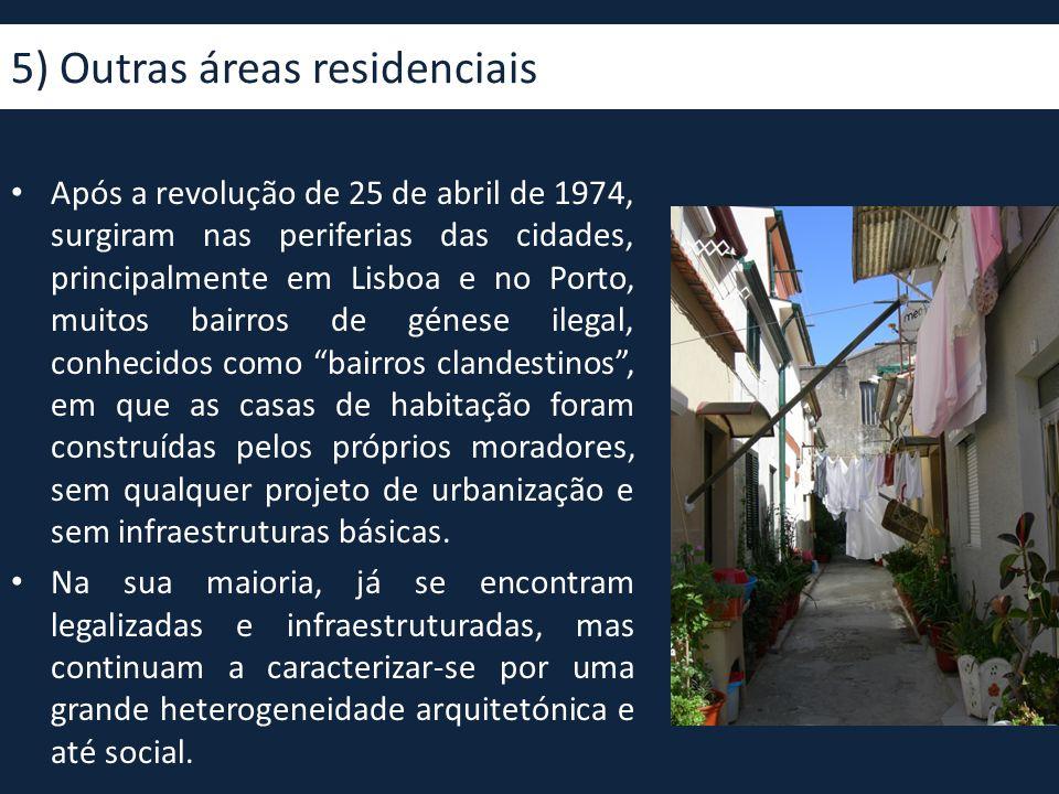 5) Outras áreas residenciais