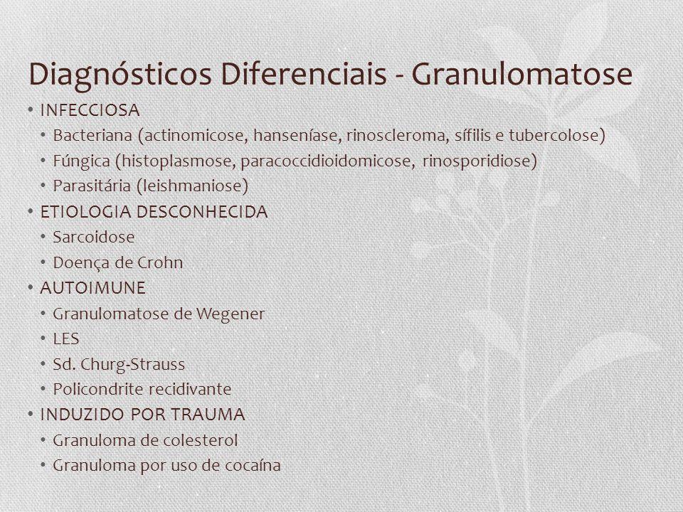 Diagnósticos Diferenciais - Granulomatose