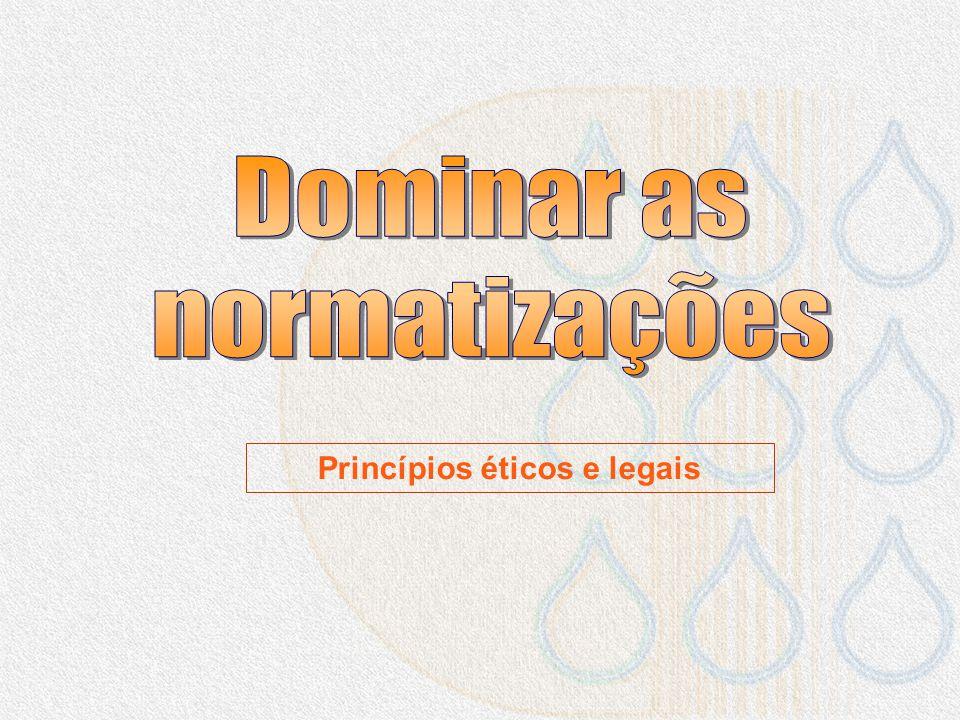 Princípios éticos e legais