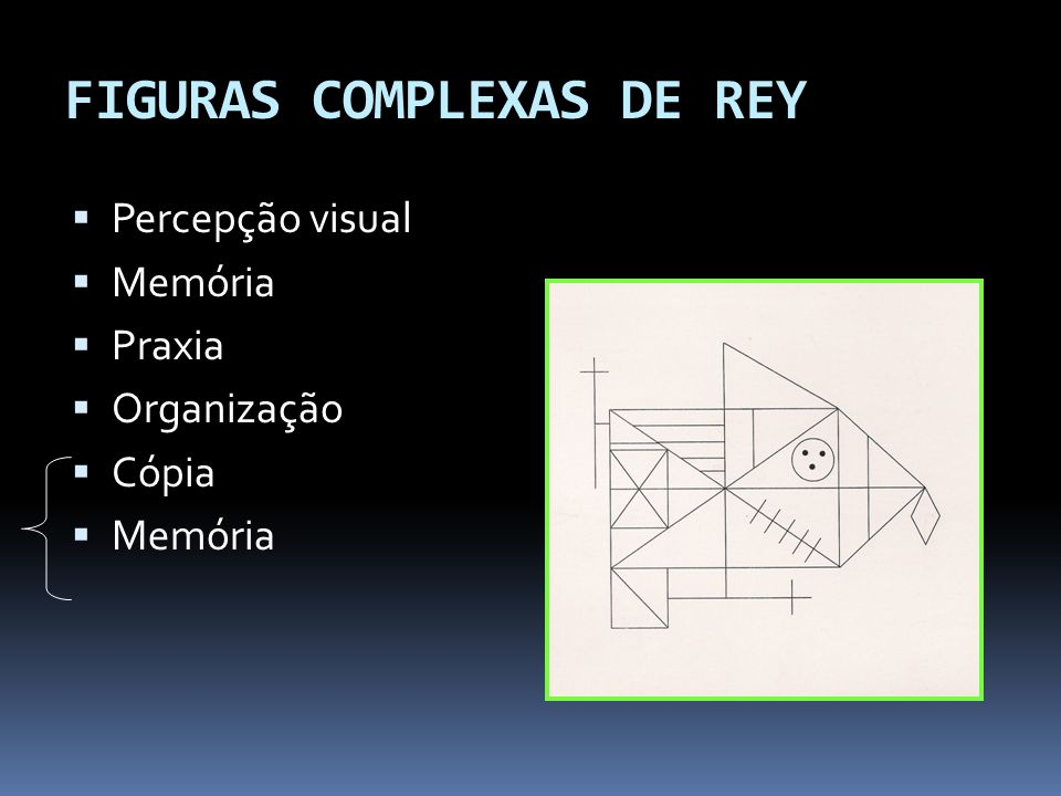 FIGURAS COMPLEXAS DE REY