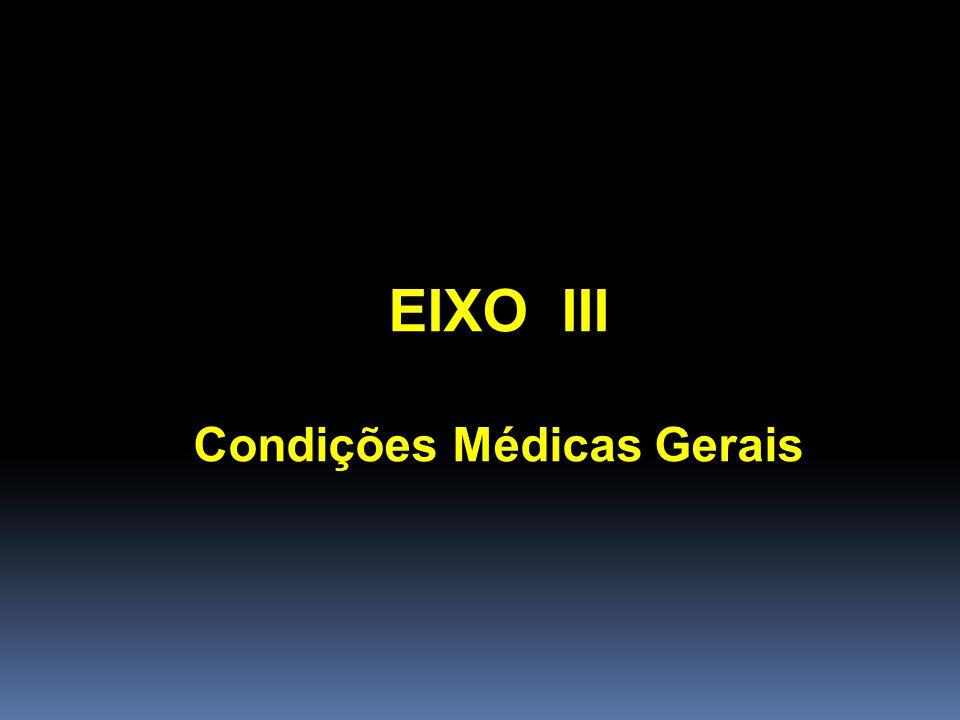 Condições Médicas Gerais