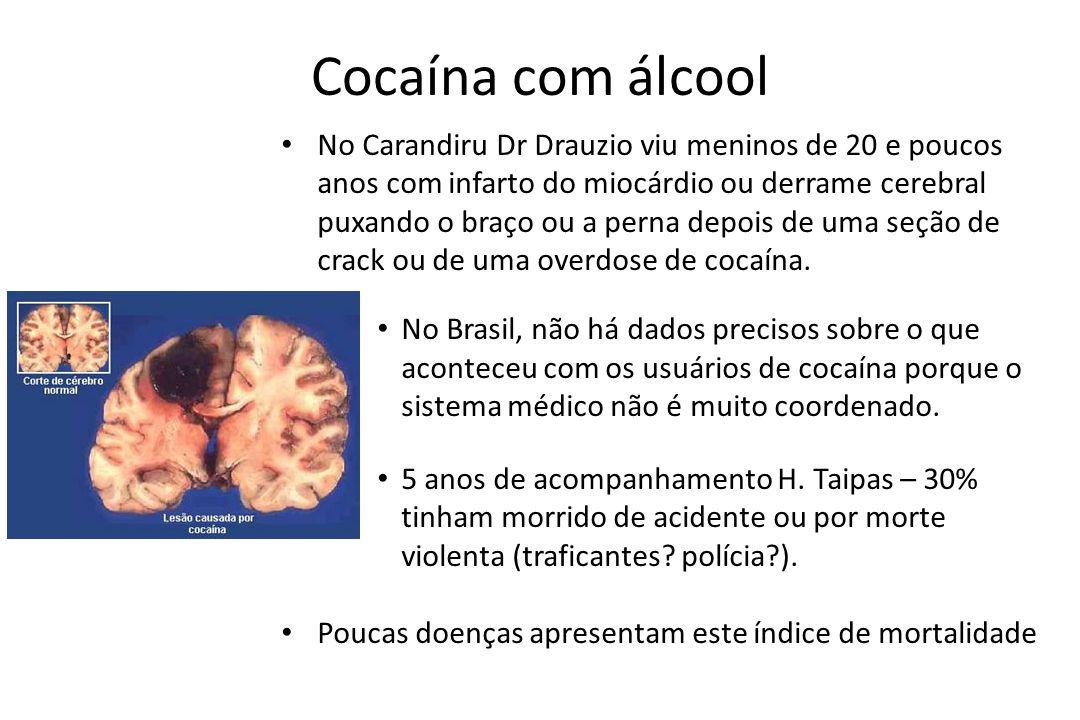 Cocaína com álcool