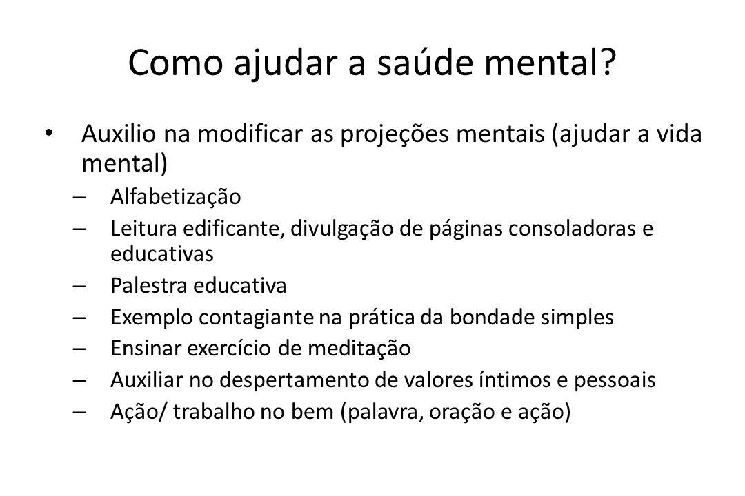 Como ajudar a saúde mental