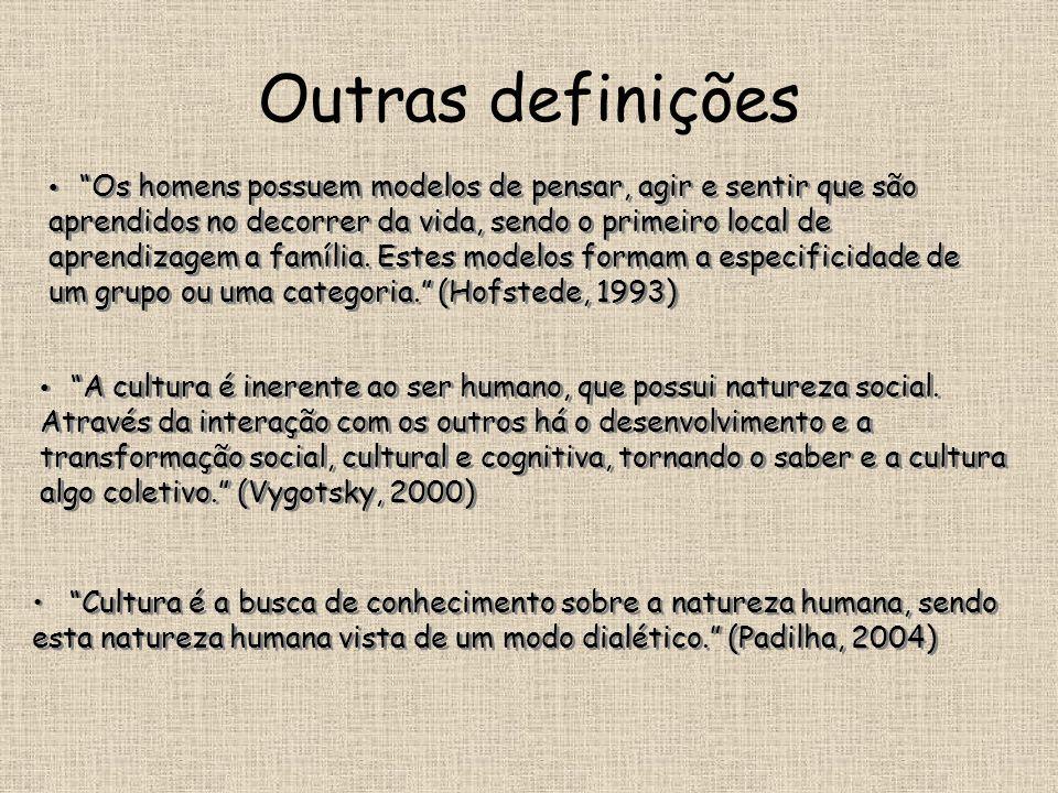 Outras definições