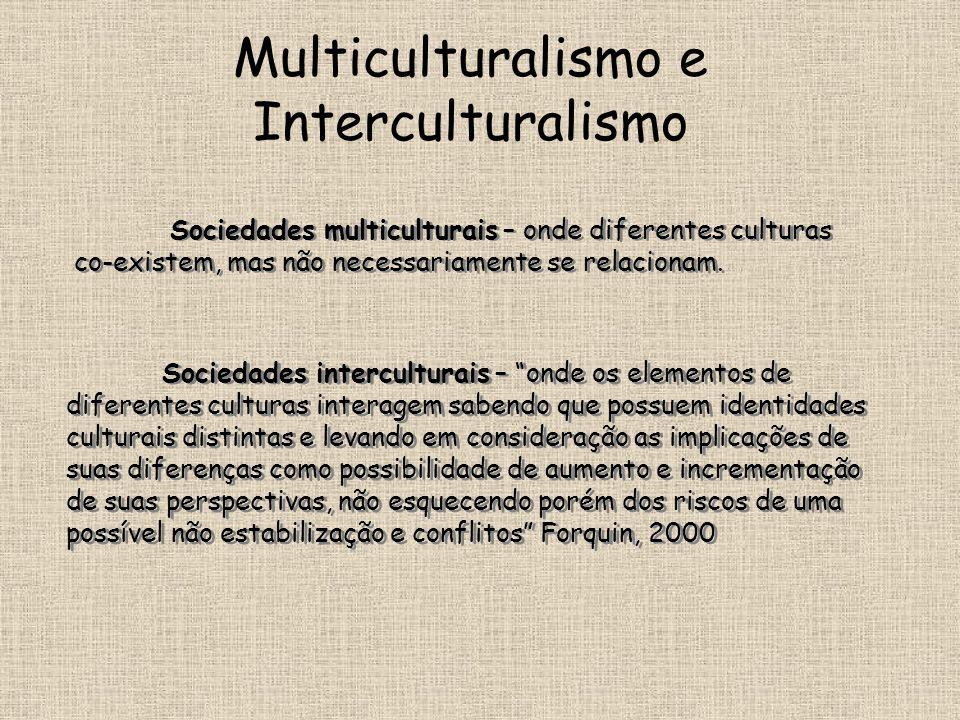 Multiculturalismo e Interculturalismo