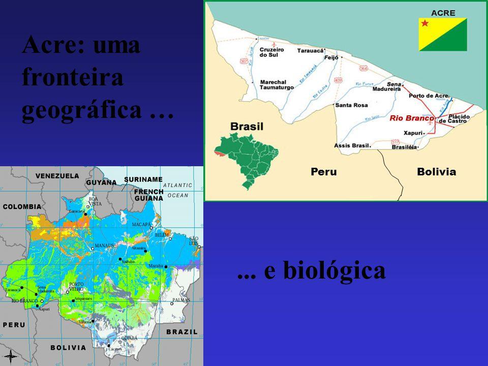 Acre: uma fronteira geográfica …