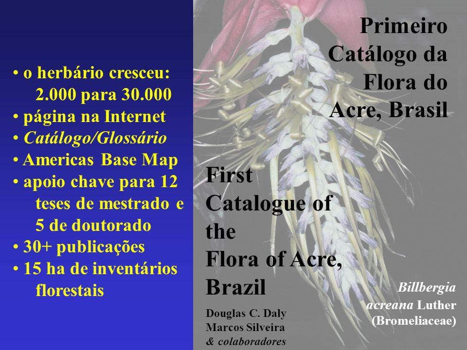 Primeiro Catálogo da Flora do
