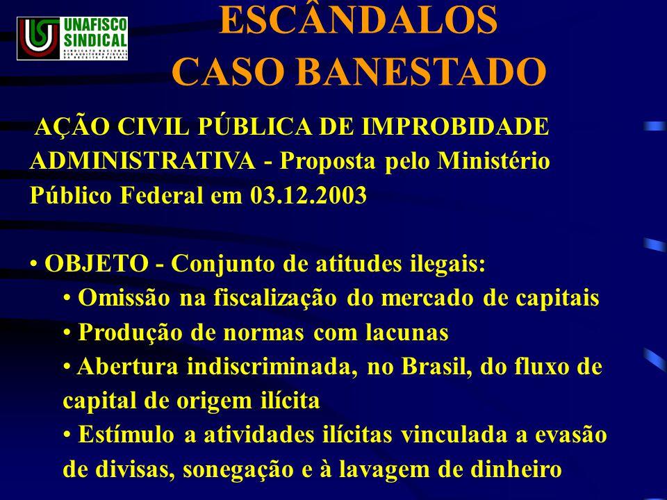 ESCÂNDALOS CASO BANESTADO