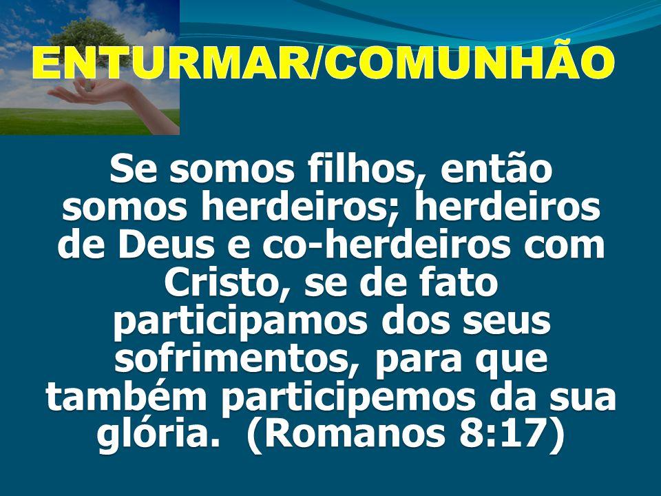 ENTURMAR/COMUNHÃO