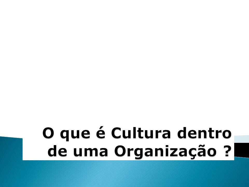 O que é Cultura dentro de uma Organização