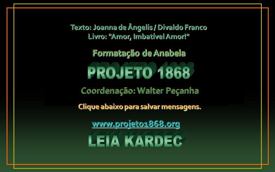PROJETO 1868 LEIA KARDEC Formatação de Anabela