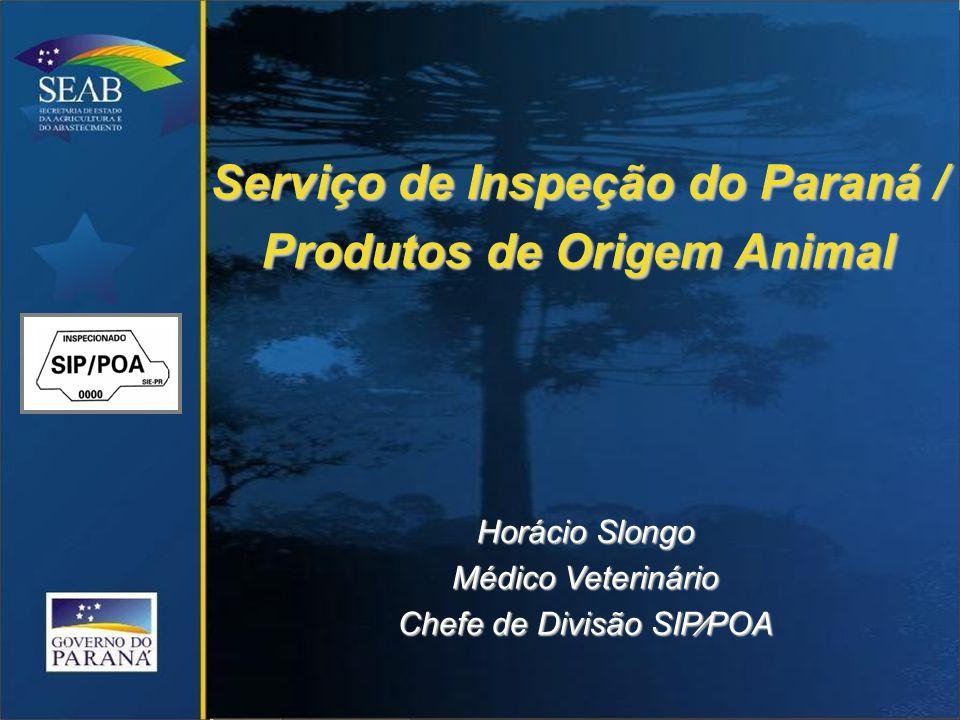 Serviço de Inspeção do Paraná / Produtos de Origem Animal