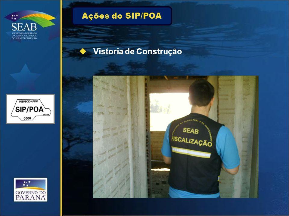 Ações do SIP/POA Vistoria de Construção