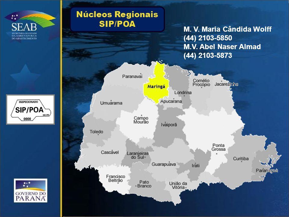 Núcleos Regionais SIP/POA