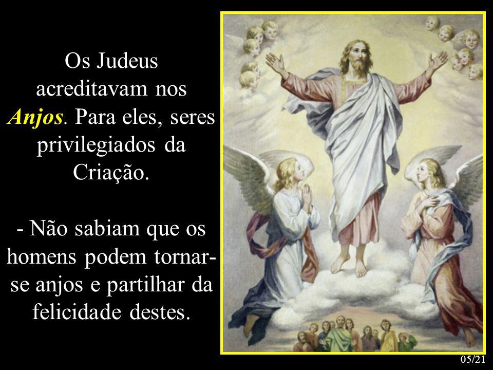 Os Judeus acreditavam nos Anjos