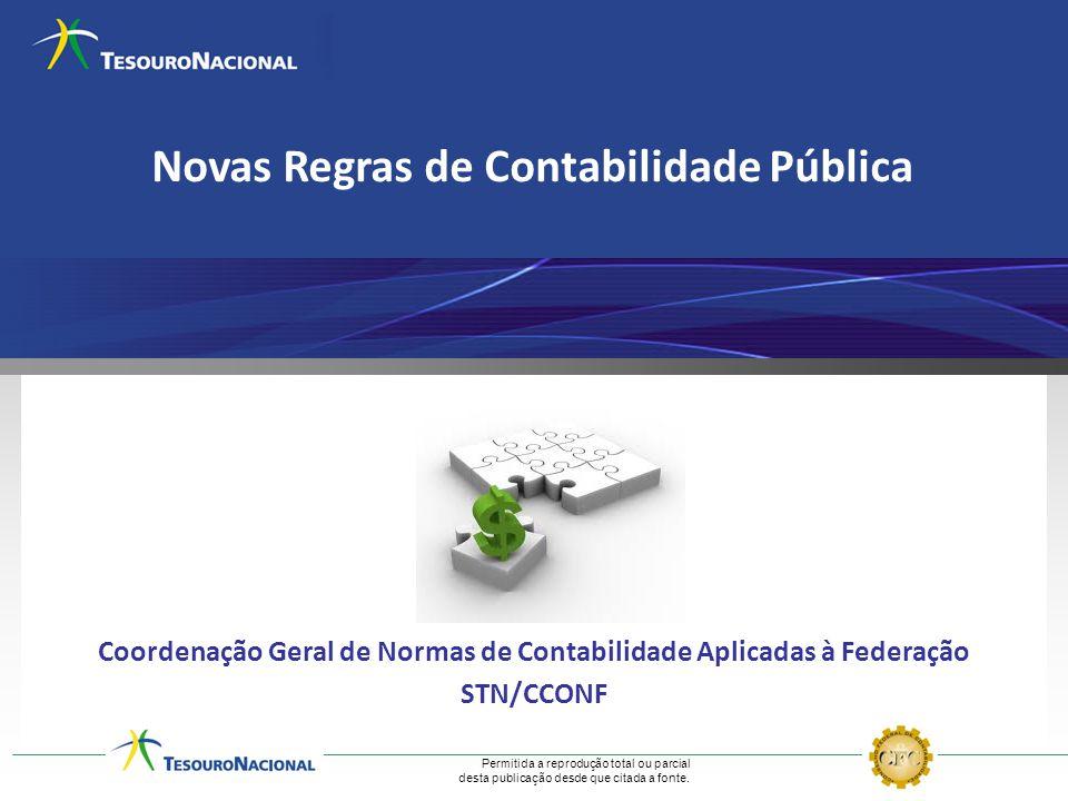 Novas Regras de Contabilidade Pública