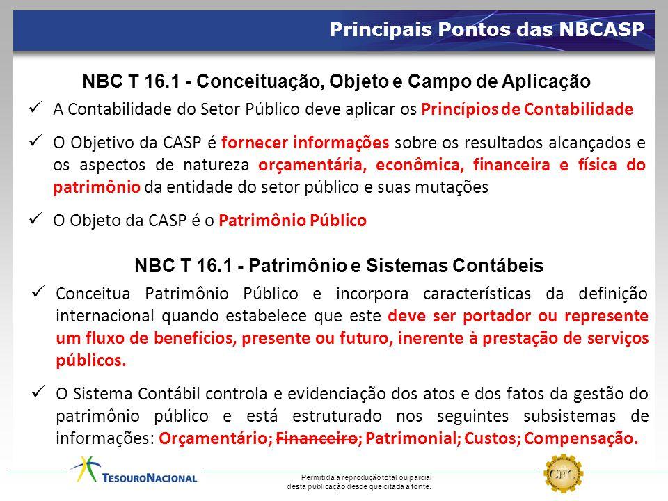Principais Pontos das NBCASP