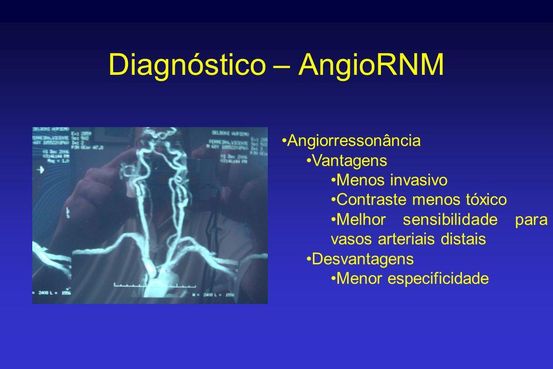 Diagnóstico – AngioRNM