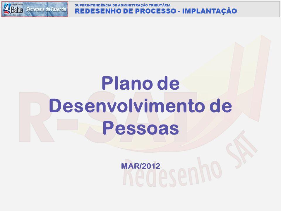 Plano de Desenvolvimento de Pessoas MAR/2012