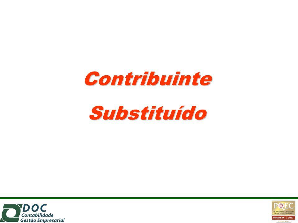 Contribuinte Substituído