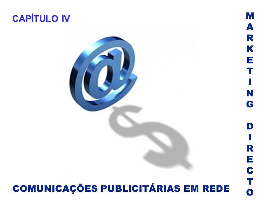 M A R K E T I N G D C O CAPÍTULO IV COMUNICAÇÕES PUBLICITÁRIAS EM REDE