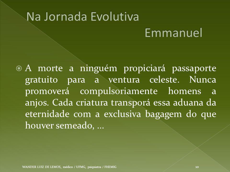 Na Jornada Evolutiva Emmanuel