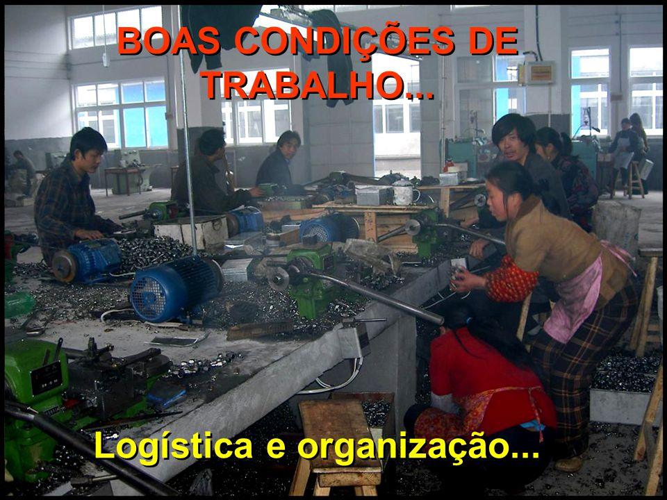 BOAS CONDIÇÕES DE TRABALHO...