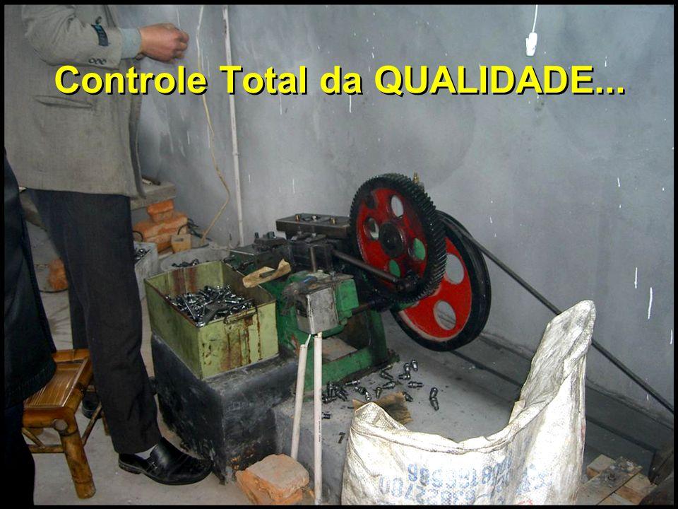 Controle Total da QUALIDADE...