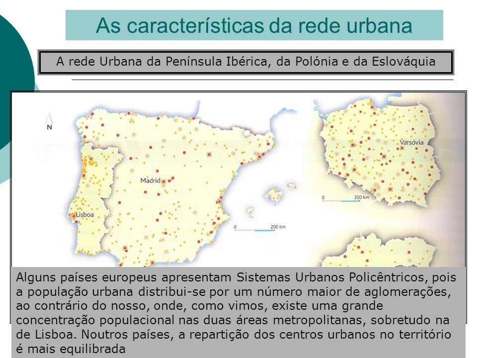 As características da rede urbana