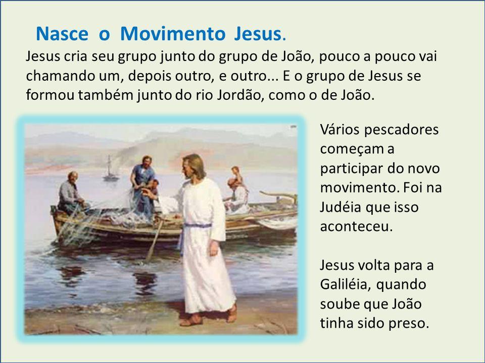 Nasce o Movimento Jesus.