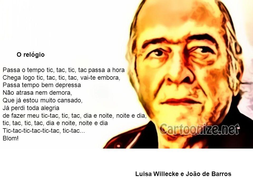 Luisa Willecke e João de Barros